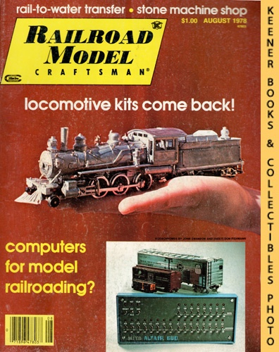 Image for Railroad Model Craftsman Magazine, August 1978 (Vol. 47, No. 3)