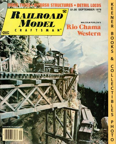 Image for Railroad Model Craftsman Magazine, September 1978 (Vol. 47, No. 4)