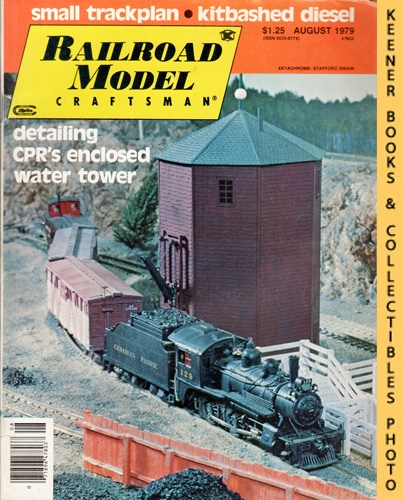 Image for Railroad Model Craftsman Magazine, August 1979 (Vol. 48, No. 3)
