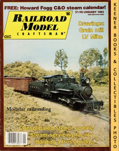Image for Railroad Model Craftsman Magazine, January 1982 (Vol. 50, No. 8)