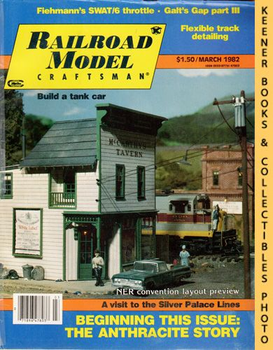 Image for Railroad Model Craftsman Magazine, March 1982 (Vol. 50, No. 10)