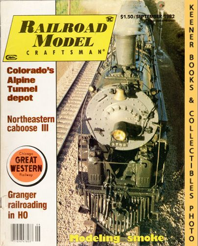 Image for Railroad Model Craftsman Magazine, September 1982 (Vol. 51, No. 4)