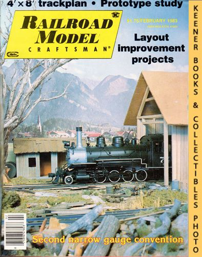 Image for Railroad Model Craftsman Magazine, February 1983 (Vol. 51, No. 9)