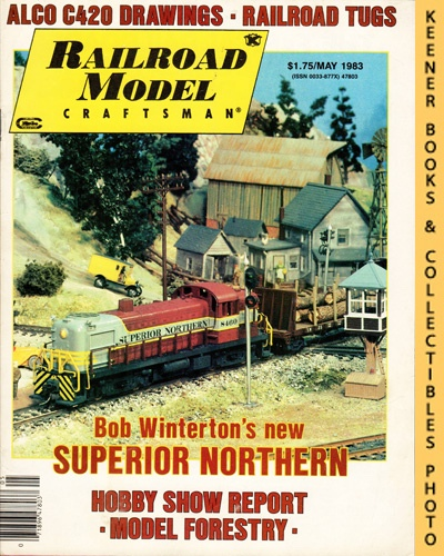 Image for Railroad Model Craftsman Magazine, May 1983 (Vol. 51, No. 12)
