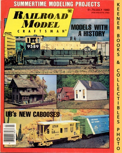 Image for Railroad Model Craftsman Magazine, July 1983 (Vol. 52, No. 2)