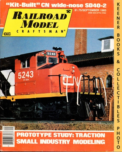 Image for Railroad Model Craftsman Magazine, September 1983 (Vol. 52, No. 3)