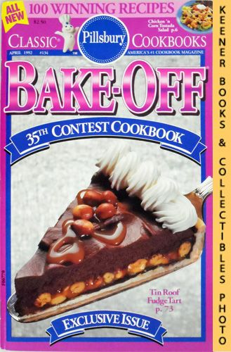 Image for Pillsbury Bake-Off 35th Contest Cookbook: Classic Cookbooks #134: Pillsbury Annual Bake-Off Contest Series