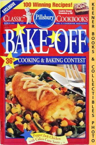 Image for Pillsbury Bake-Off 36th Cooking & Baking Contest: Classic Cookbooks #157: Pillsbury Annual Bake-Off Contest Series