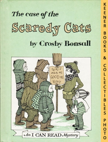 Image for The Case Of The Scaredy Cats: An I CAN READ Mystery Book: An I CAN READ Book Mystery Series