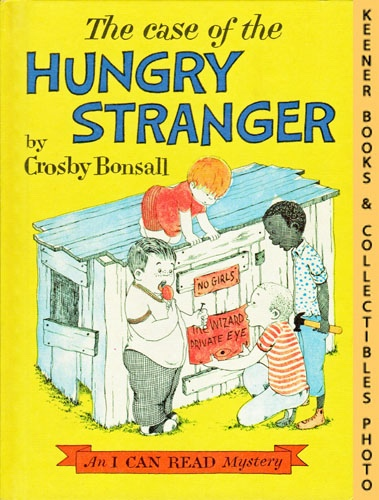 Image for The Case Of The Hungry Stranger: An I CAN READ Book Mystery, Level 2 Book: An I CAN READ Book Mystery Series