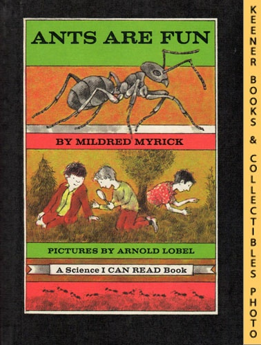 Image for Ants Are Fun: An I CAN READ Book Science, Level 2 Book: An I CAN READ Book Science Series