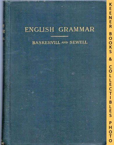 Image for An English Grammar - For The Use Of High School, Academy, And College Classes