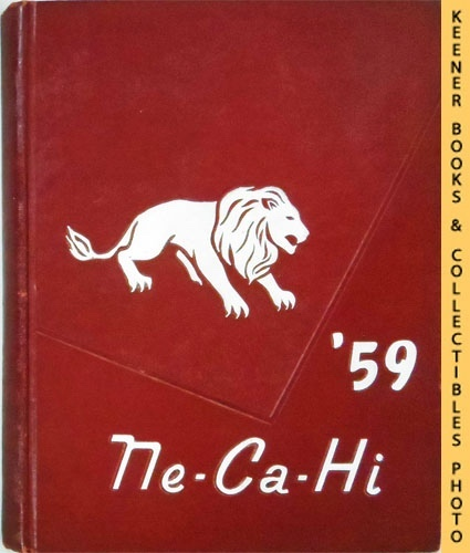 Image for New Castle High School Pennsylvania 1959 Ne-Ca-Hi HS Annual Yearbook (Original)