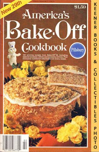 Image for Pillsbury America's Bake-Off Cookbook: 100 Winning Recipes From Pillsbury's 29th Annual Bake-Off - 1980: Pillsbury Annual Bake-Off Contest Series