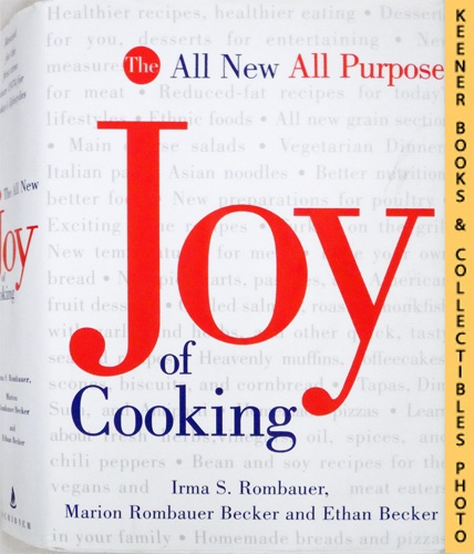 Image for The All New, All Purpose, Joy Of Cooking