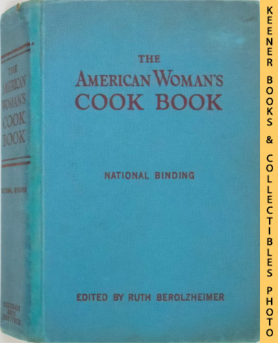 Image for The American Woman's Cook Book : National Binding: New And Revised Edition