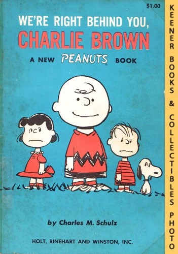 Image for We're Right Behind You, Charlie Brown: A New Peanuts Book