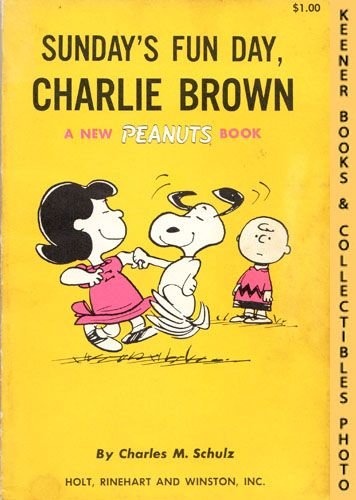 Image for Sunday's Fun Day, Charlie Brown: A New Peanuts Book