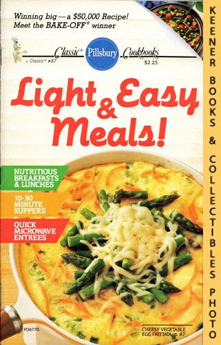 Image for Pillsbury Classic #87: Light & Easy Meals!: Pillsbury Classic Cookbooks Series