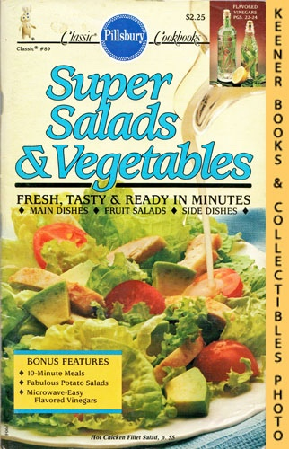 Image for Pillsbury Classic #89: Super Salads & Vegetables: Pillsbury Classic Cookbooks Series
