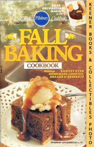 Image for Pillsbury Classic #93: Fall Baking Cookbook: Pillsbury Classic Cookbooks Series