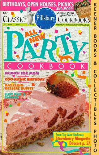 Image for Pillsbury Classic #147: All New Party Cookbook: Pillsbury Classic Cookbooks Series