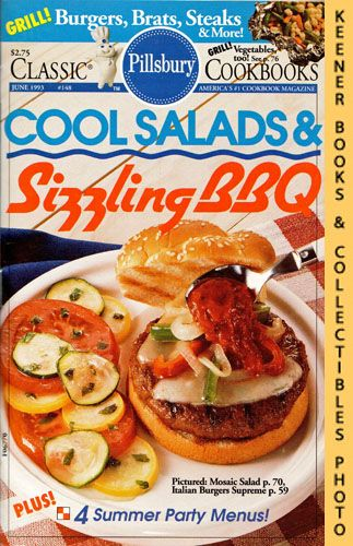 Image for Pillsbury Classic #148: Cool Salads & Sizzling BBQ: Pillsbury Classic Cookbooks Series