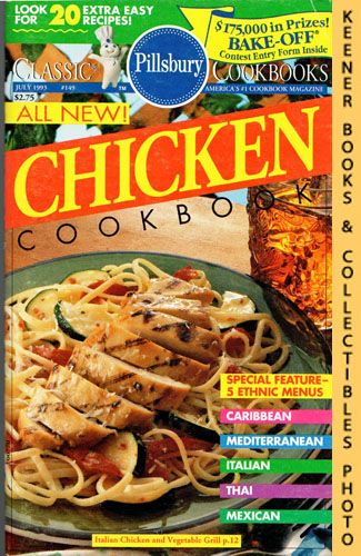 Image for Pillsbury Classic #149: All New! Chicken Cookbook: Pillsbury Classic Cookbooks Series
