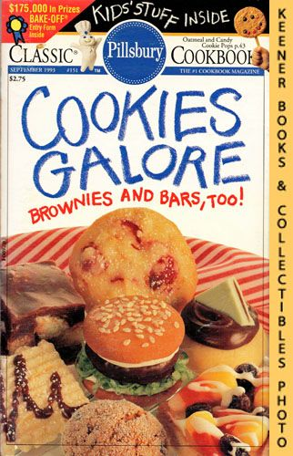 Image for Pillsbury Classic #151: Cookies Galore Brownies And Bars, Too!: Pillsbury Classic Cookbooks Series