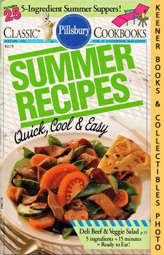 Image for Pillsbury Classic #161: Summer Recipes - Quick, Cool & Easy: Pillsbury Classic Cookbooks Series