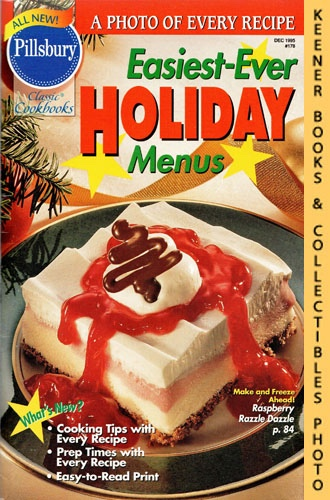 Image for Pillsbury Classic #178: Easiest-Ever Holiday Menus: Pillsbury Classic Cookbooks Series