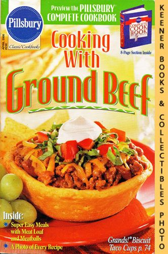 Image for Pillsbury Classic #230: Cooking With Ground Beef: Pillsbury Classic Cookbooks Series