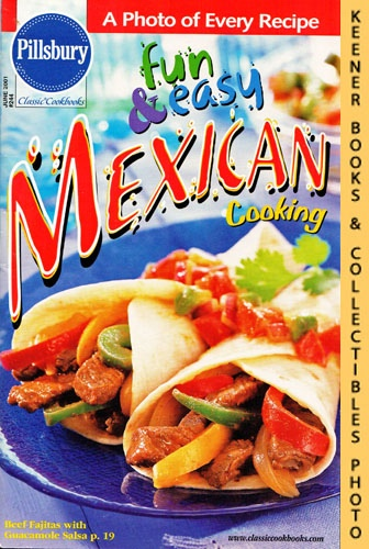 Image for Pillsbury Classic #244: Fun & Easy Mexican Cooking: Pillsbury Classic Cookbooks Series