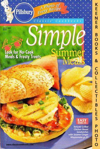 Image for Pillsbury Classic #245: Simple Summer Meals: Pillsbury Classic Cookbooks Series