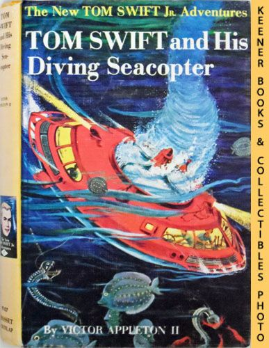 Image for Tom Swift And His Diving Seacopter : The New Tom Swift Jr. Adventures #7: Orange Spine Version - The New Tom Swift Jr. Adventures Series