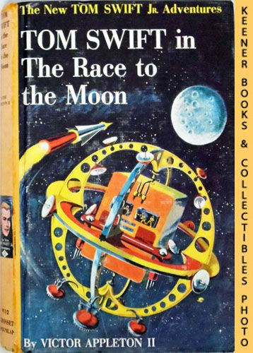 Image for Tom Swift In The Race To The Moon : The New Tom Swift Jr. Adventures #12: Orange Spine Version - The New Tom Swift Jr. Adventures Series