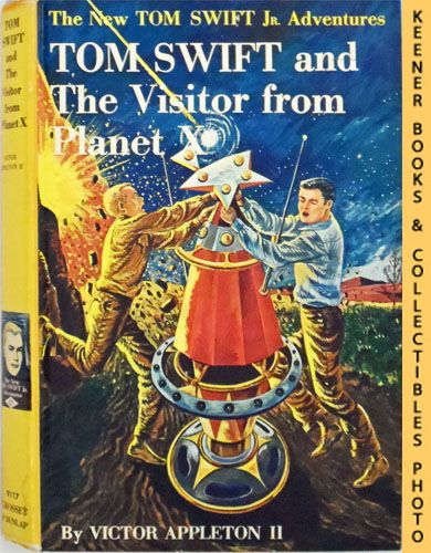 Image for Tom Swift And The Visitor From Planet X : The New Tom Swift Jr. Adventures #17: Orange Spine Version - The New Tom Swift Jr. Adventures Series