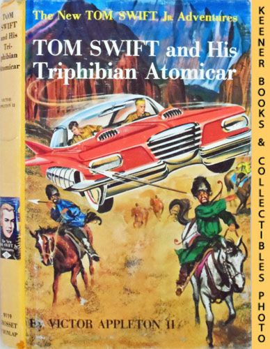 Image for Tom Swift And His Triphibian Atomicar : The New Tom Swift Jr. Adventures #19: Orange Spine Version - The New Tom Swift Jr. Adventures Series