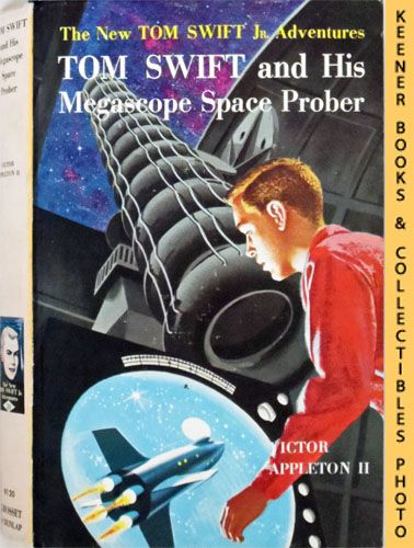 Image for Tom Swift And His Megascope Space Prober : The New Tom Swift Jr. Adventures #20: Orange Spine Version - The New Tom Swift Jr. Adventures Series