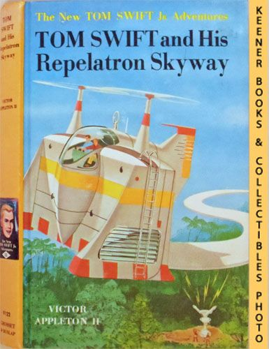 Image for Tom Swift And His Repelatron Skyway : The New Tom Swift Jr. Adventures #22: Orange Spine Version - The New Tom Swift Jr. Adventures Series