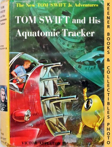 Image for Tom Swift And His Aquatomic Tracker : The New Tom Swift Jr. Adventures #23: Orange Spine Version - The New Tom Swift Jr. Adventures Series