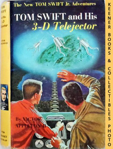 Image for Tom Swift And His 3-D Telejector : The New Tom Swift Jr. Adventures #24: Orange Spine Version - The New Tom Swift Jr. Adventures Series